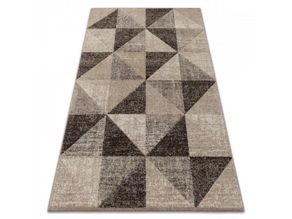Kusový koberec FEEL 5672/15055 béžový hnědý