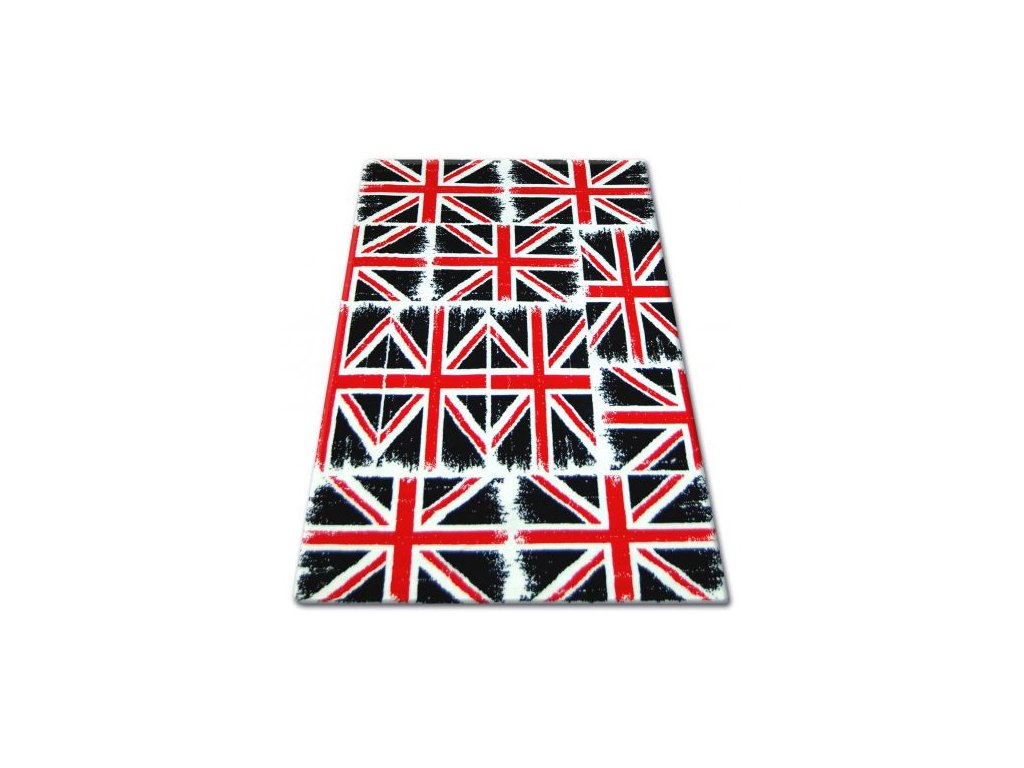 Kusový koberec BCF FLASH 33408/190 Vlajka