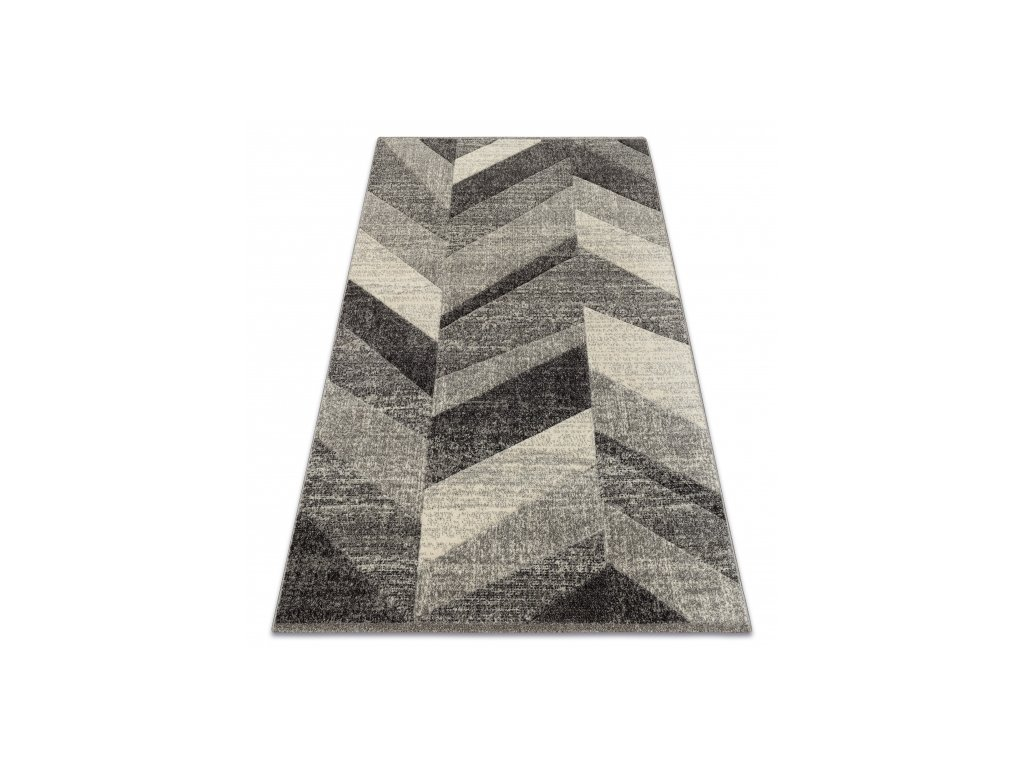 Kusový koberec FEEL 5673/16811 šedý krémový