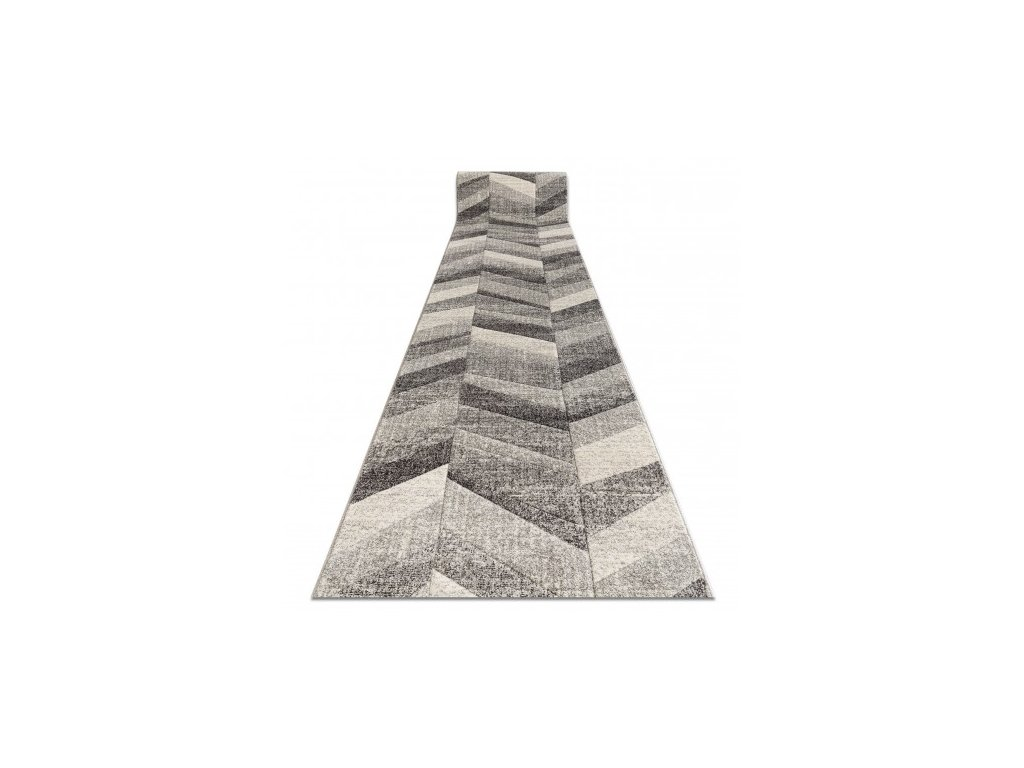 Běhoun FEEL 5673/16811 šedý krémový