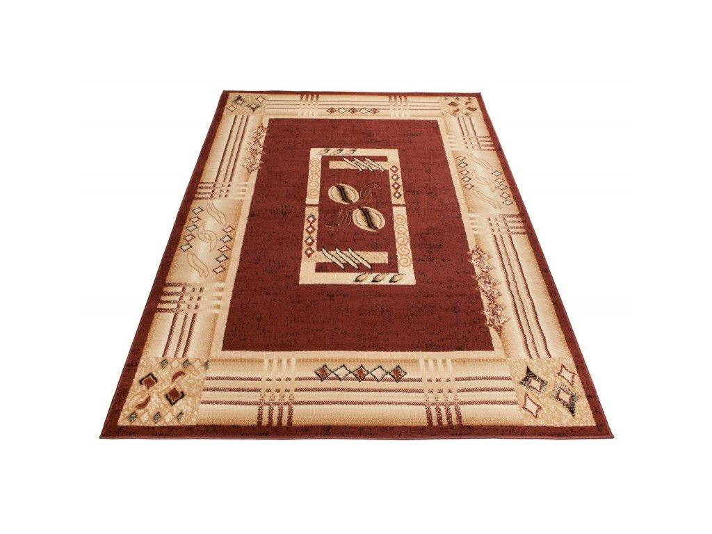 Kusový koberec ATLAS C766A Hnědý
