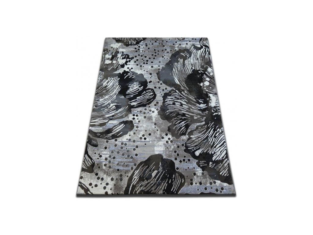 Koberec Vogue 076 černý / hnědý