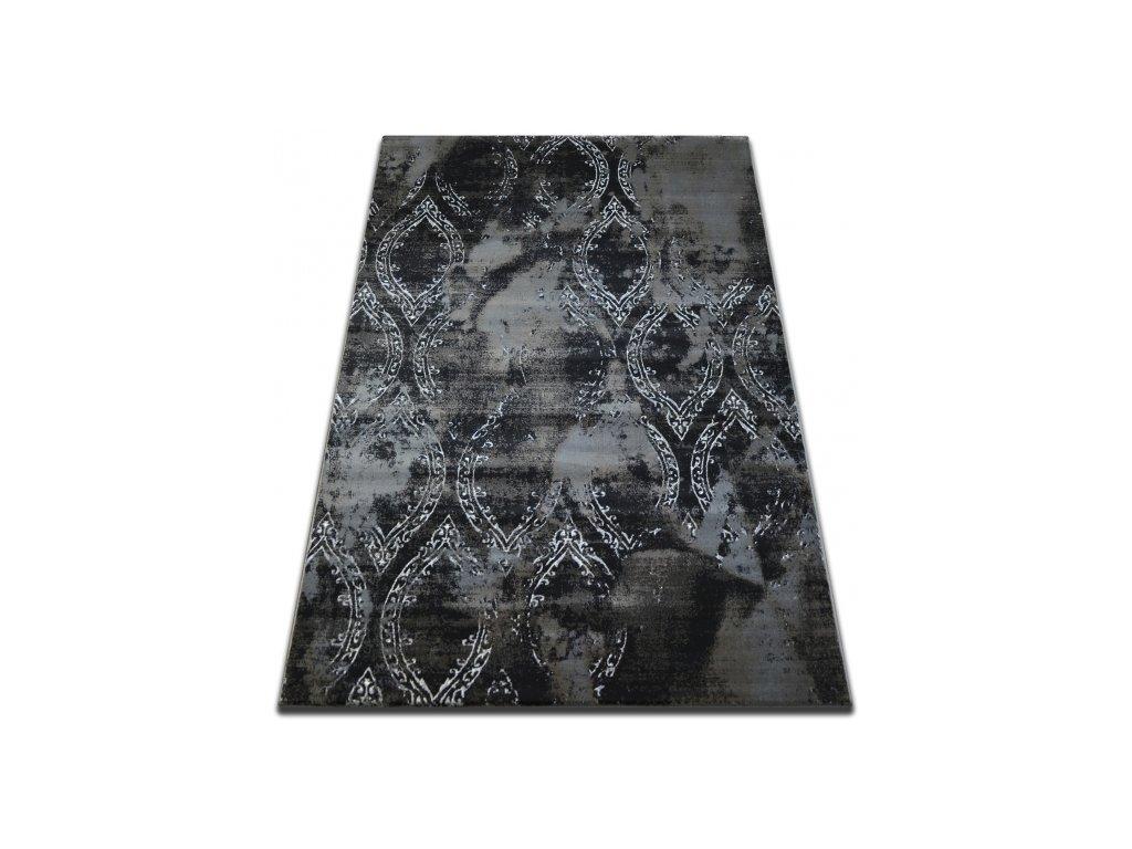 Kusový koberec Vogue 093 černý / hnědý