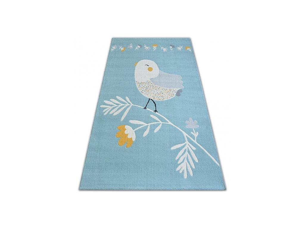 Koberec PASTEL 18404/032 - Ptáček modrý