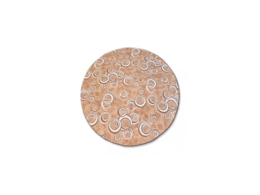Kulatý koberec DROPS 033 béžový