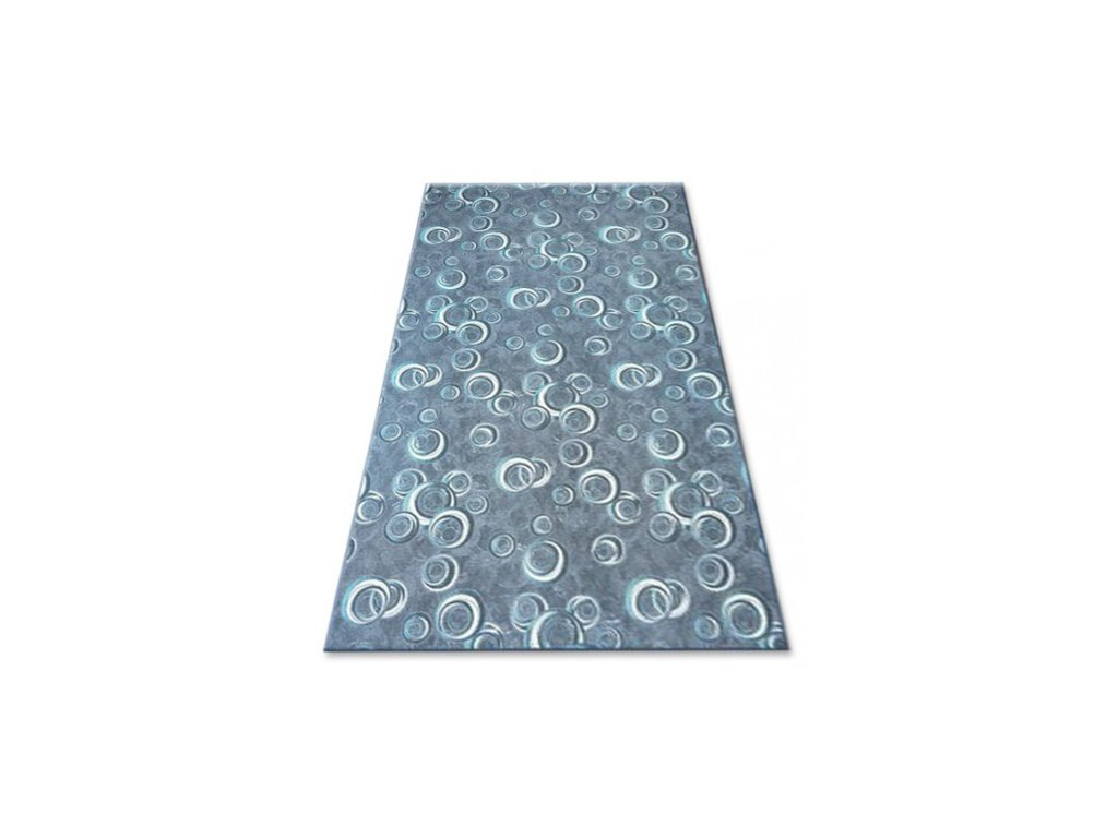 Kusový koberec Drops 099 tmavě šedý