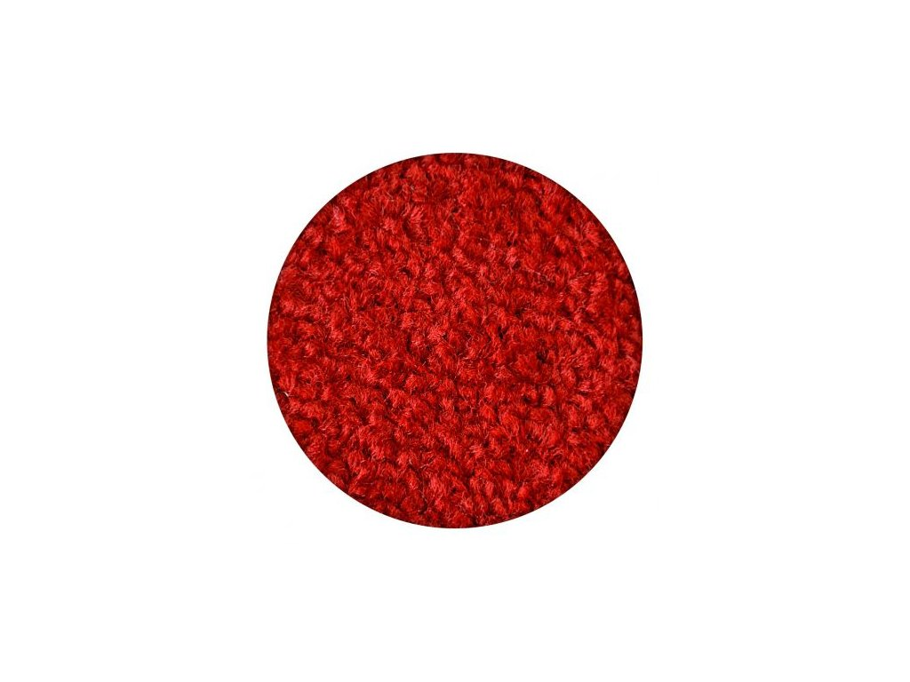 Kulatý koberec ETON červený