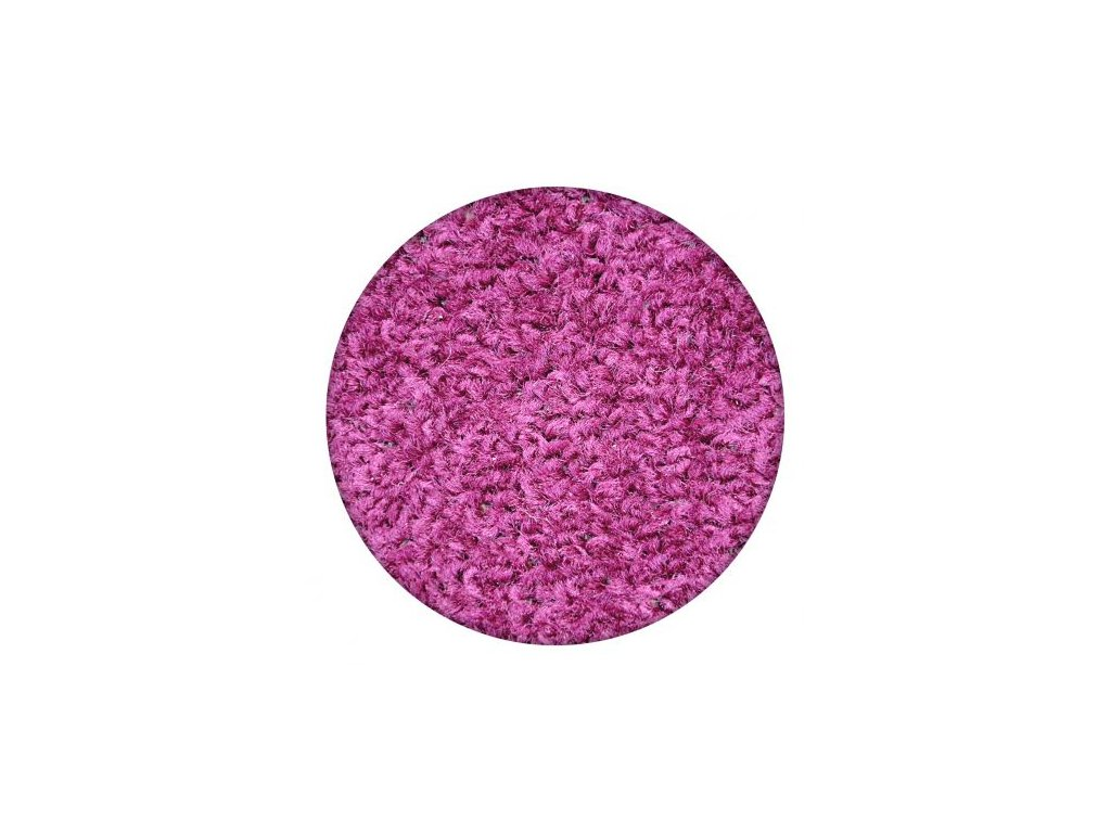 Kulatý koberec ETON fialový