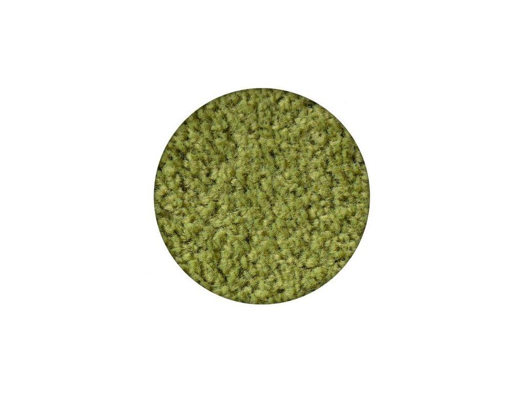 Kulatý koberec ETON zelený