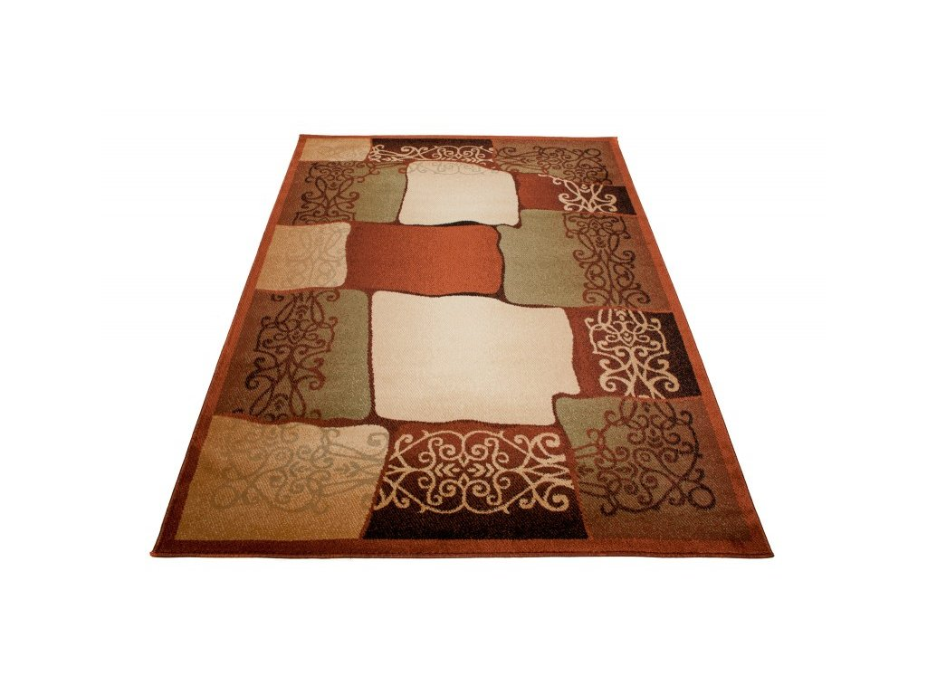 Kusový koberec DORIAN E443A hnědý