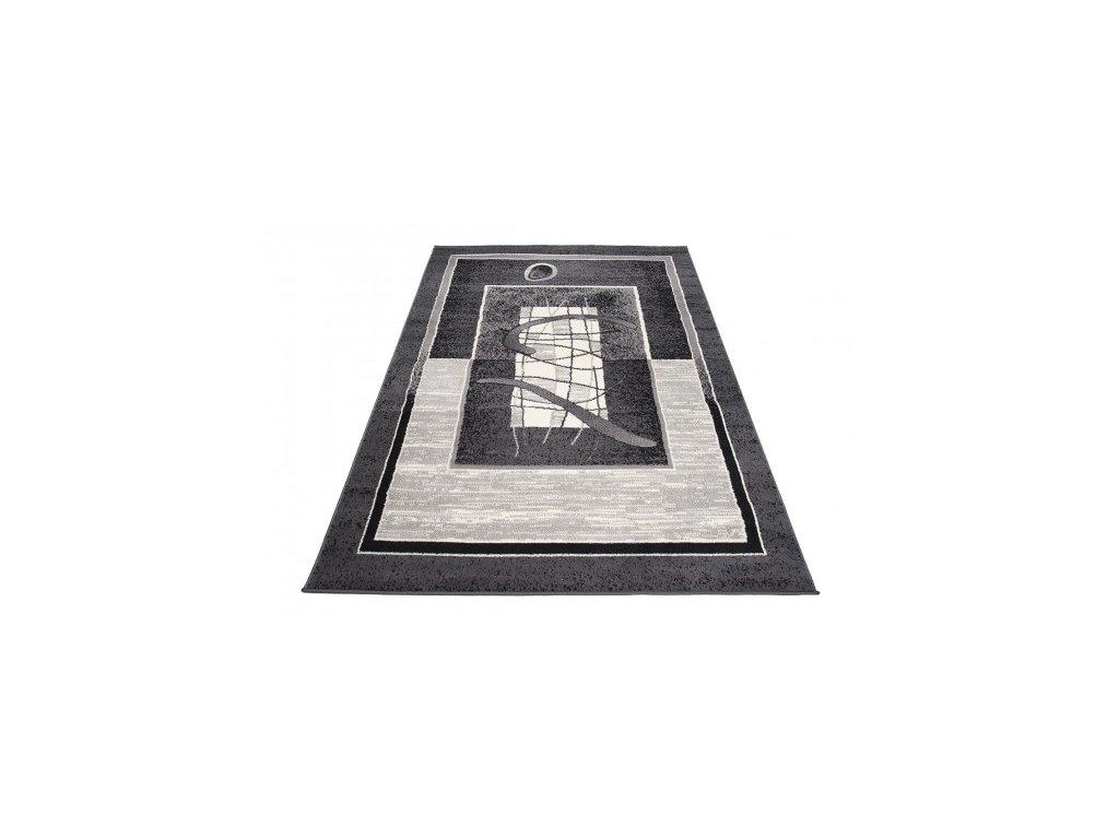 Kusový koberec 5118B CHEAP Tmavě šedý