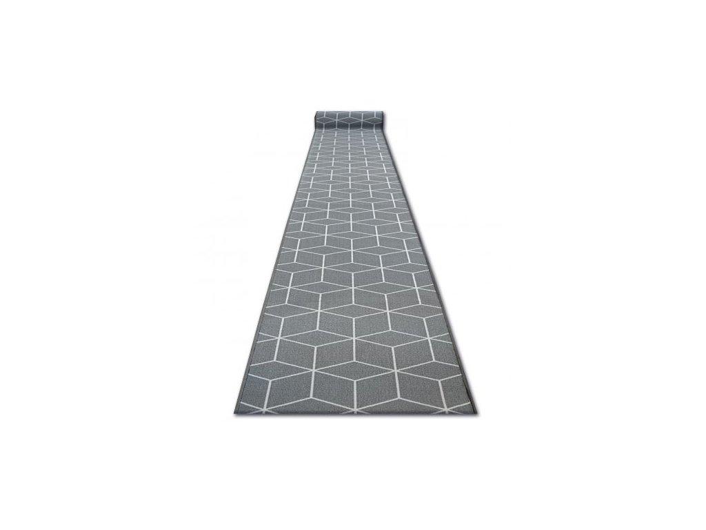Běhoun pogumovaný SKY Hexagon šedý