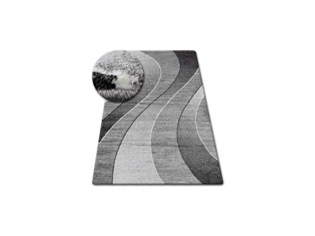 Kusový koberec SHADOW 8595 vizon / bílý