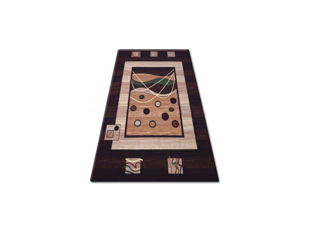 Kusový koberec PRIMO 4626 hnědý