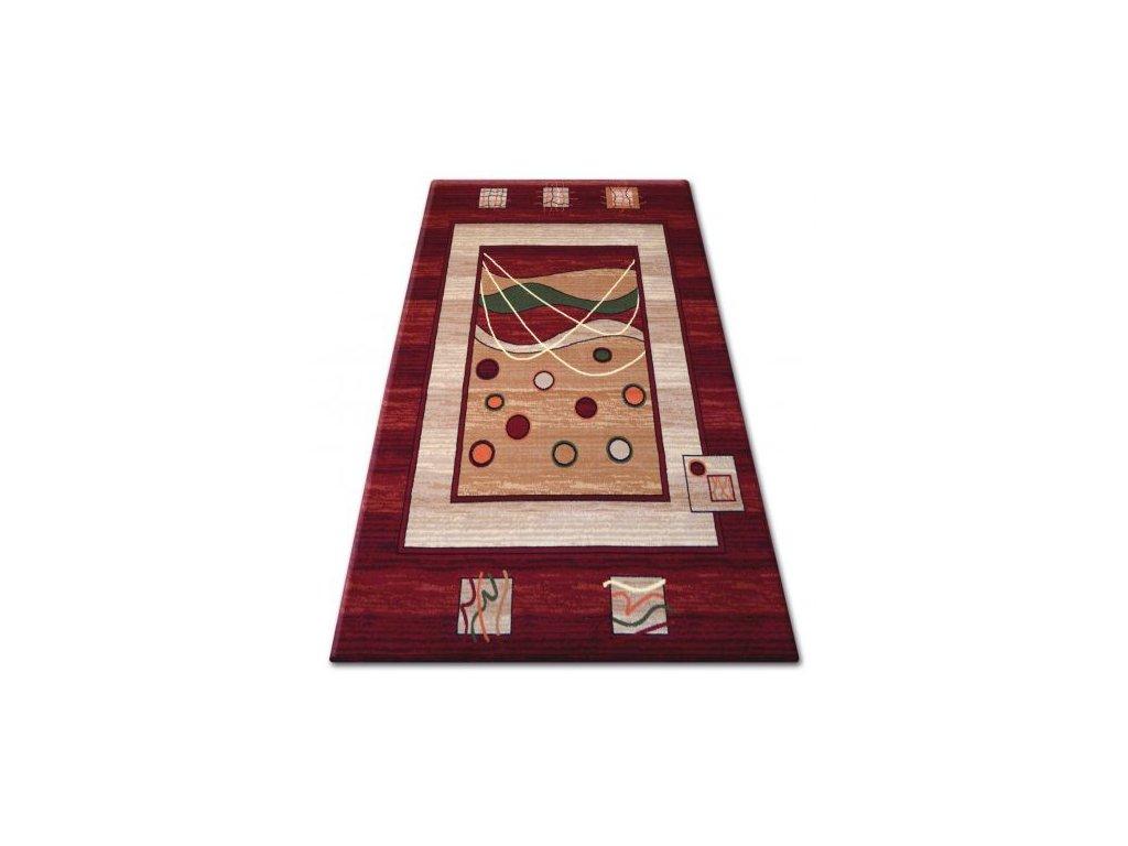 Kusový koberec PRIMO 4626 bordó