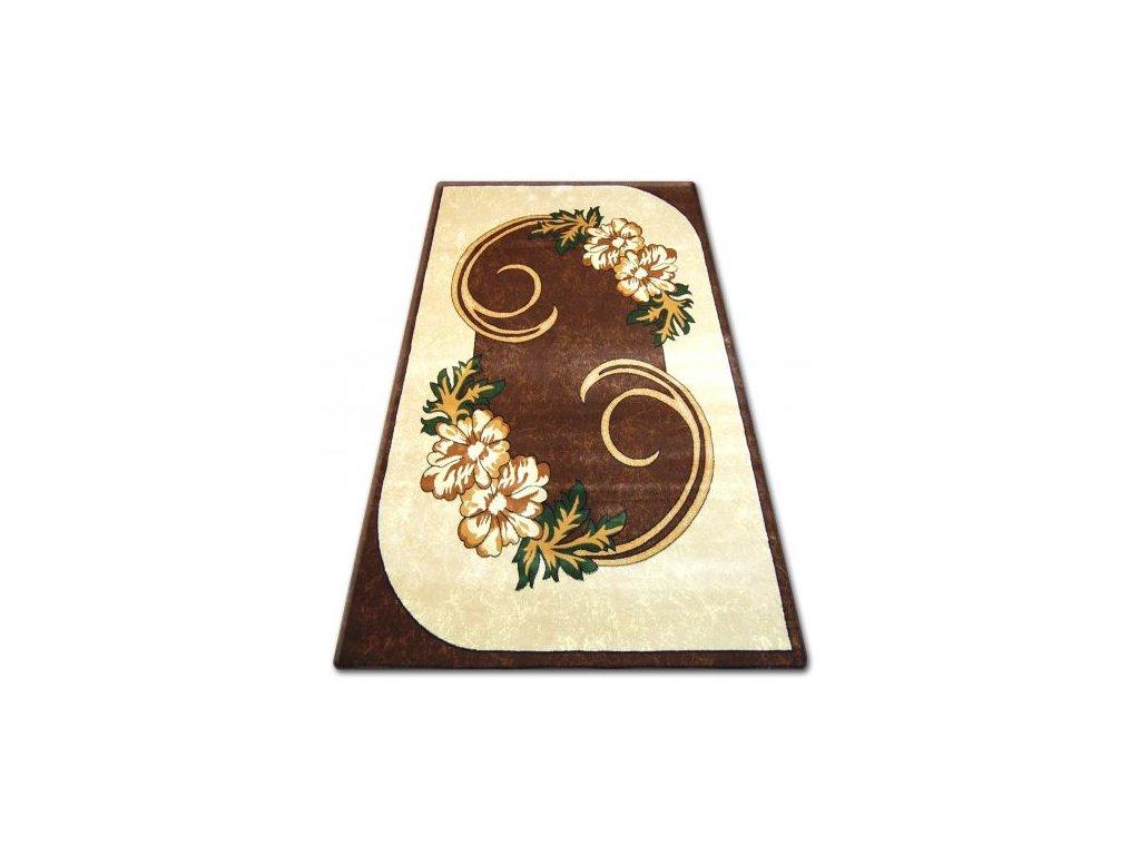 Kusový koberec PRIMO 9945 hnědý