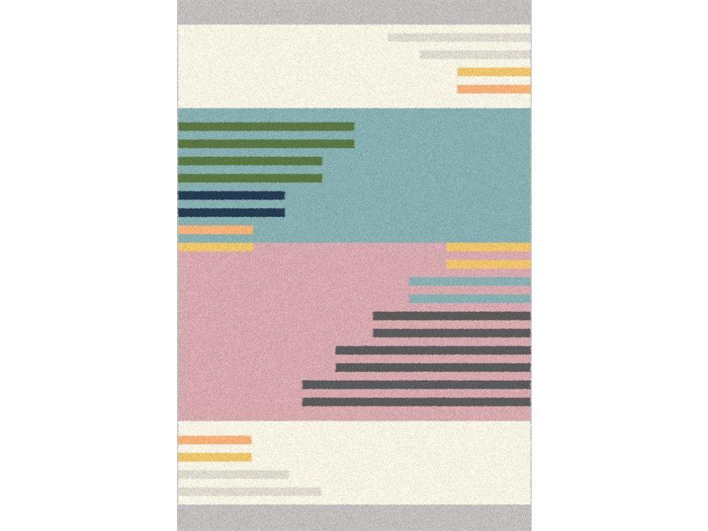 Dětský kusový koberec Agnella Eden Stup vícebarevný