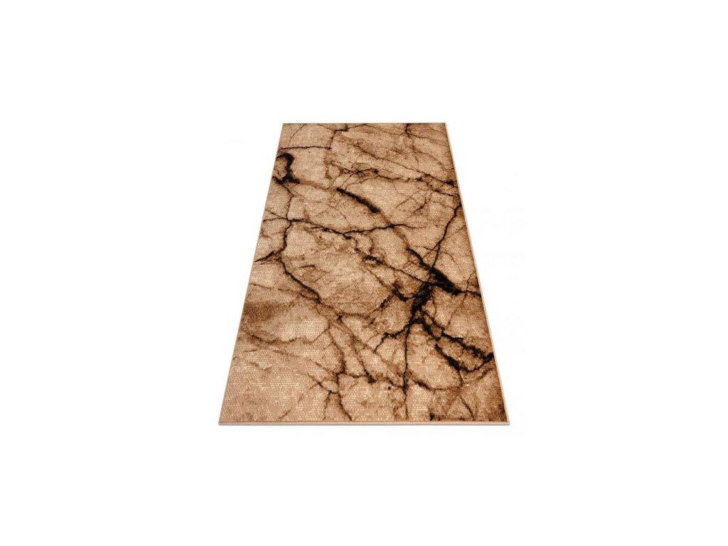Kusový koberec BASE 3988 kámen mramor béžový