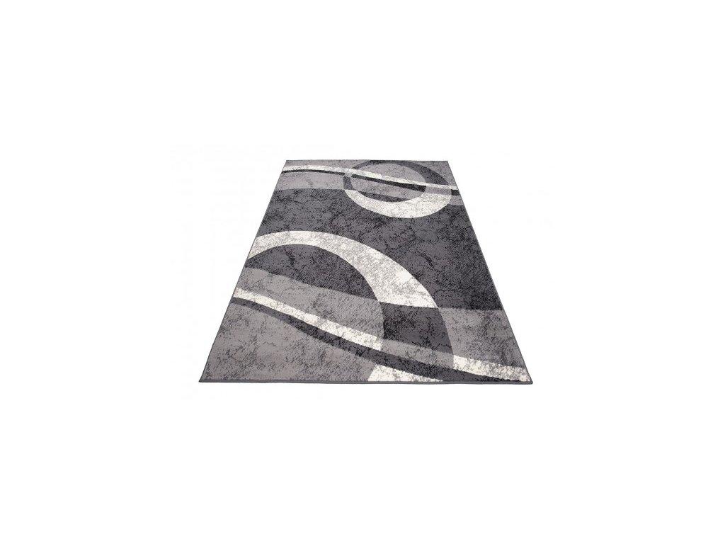 Kusový koberec 4959A CHEAP Tmavě šedý