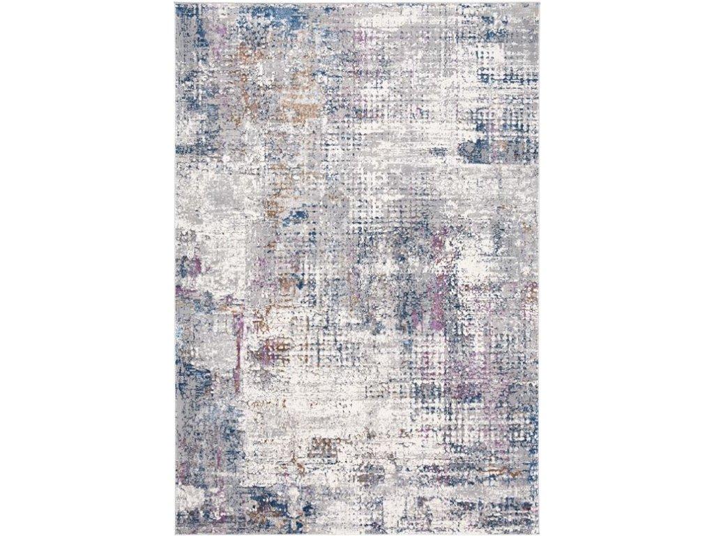 Moderní kusový koberec abstraktní Charleston AF81A Krémový