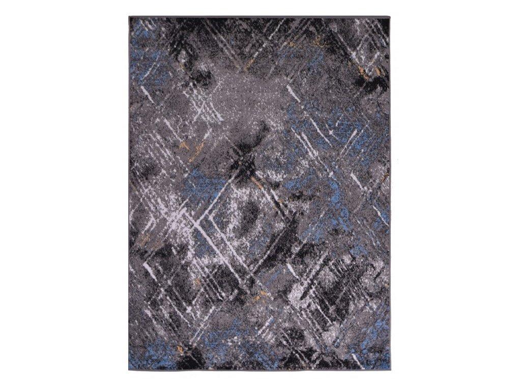 Kusový koberec VISION Q198A šedý / modrý