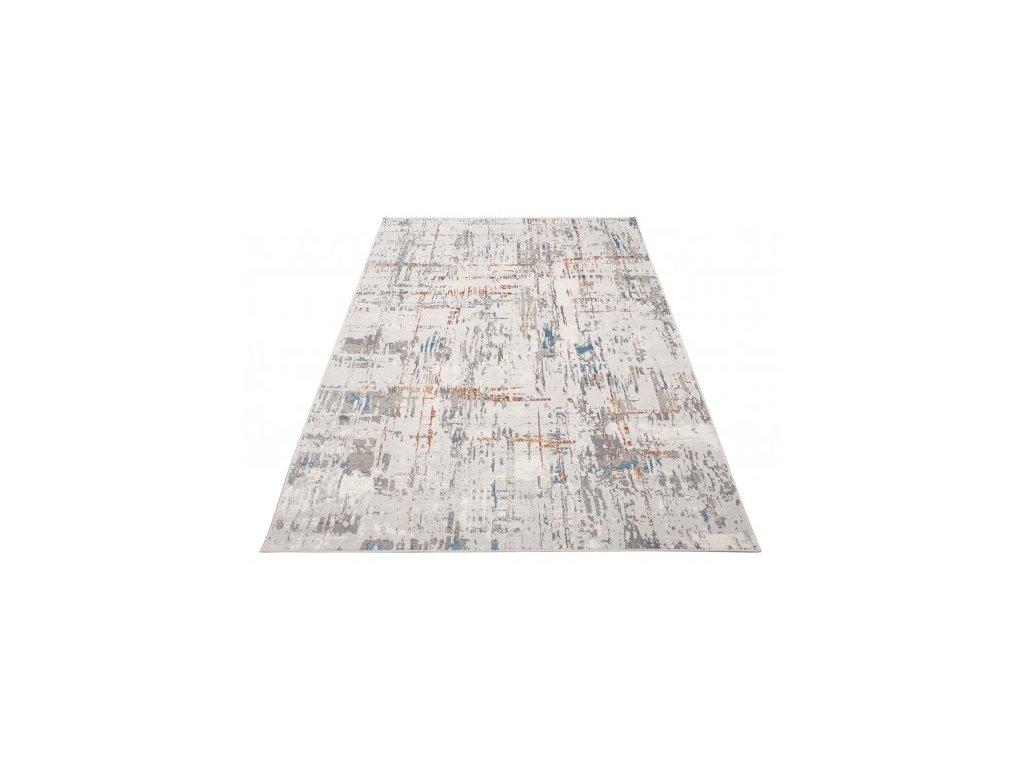 Moderní kusový koberec VINTAGE G446A krémový / modrý