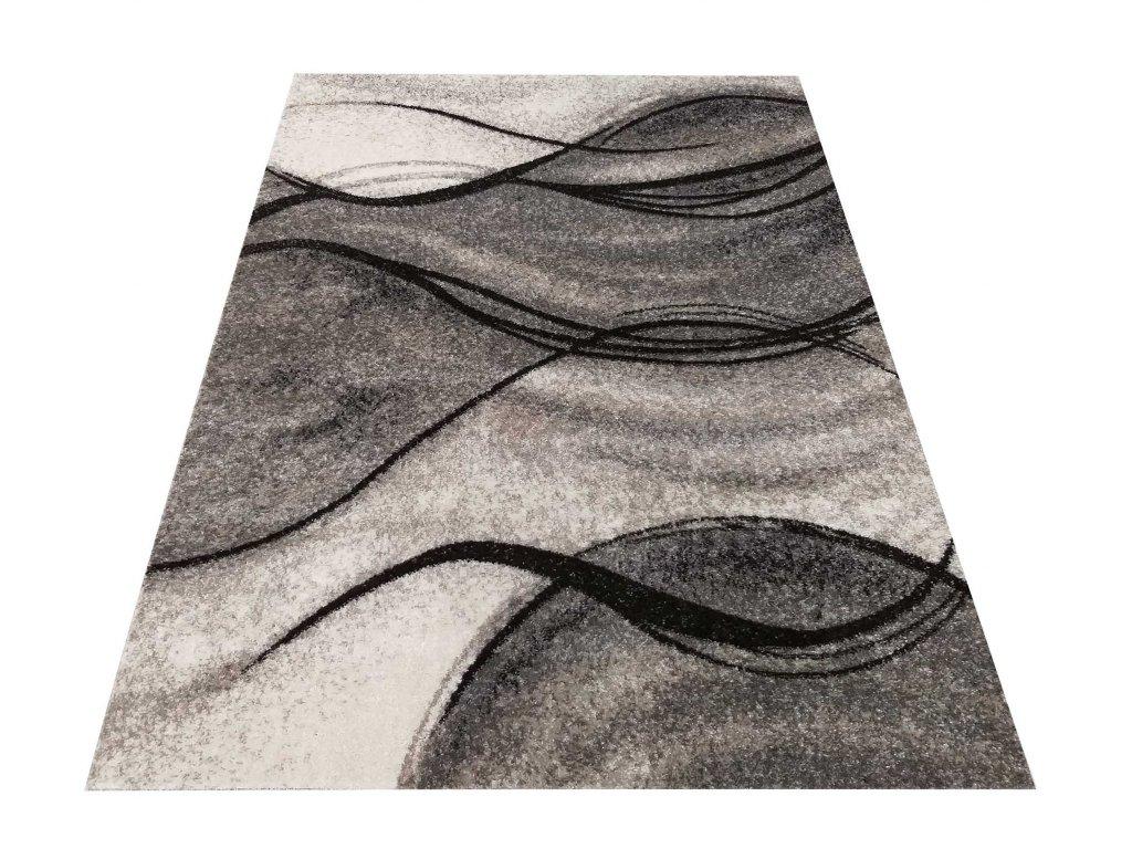 Moderní kusový koberec Panamero 07 šedý