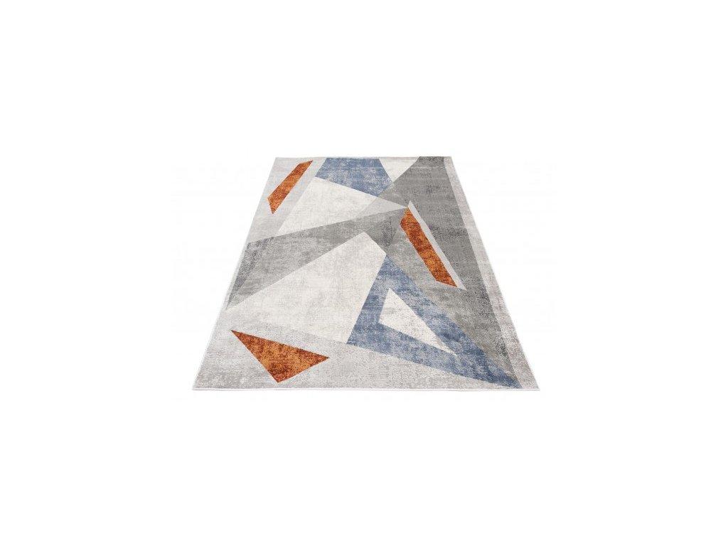 Moderní kusový koberec  FEYRUZ DP57A SCHRING světle šedý