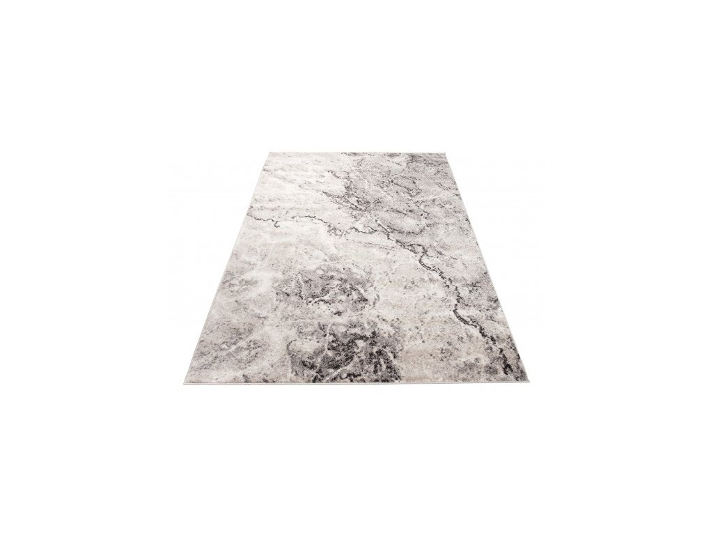 Moderní kusový koberec FIESTA 36125/36926 Abstraktní béžový / šedý