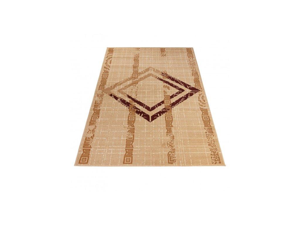 Moderní kusový koberec ATENA FM35A světle béžový