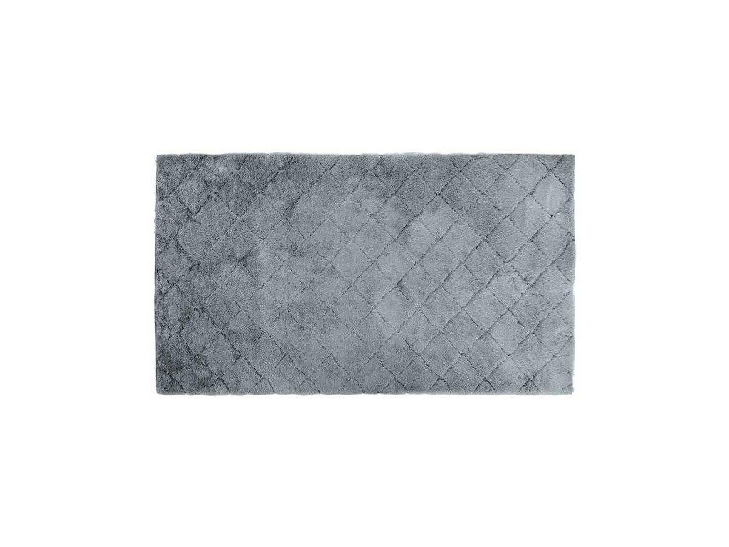 Kusový shaggy koberec OSLO šedý