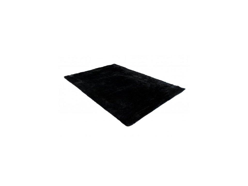 Koupelnová předložka SILK ARTS-61 černá 50 x 80