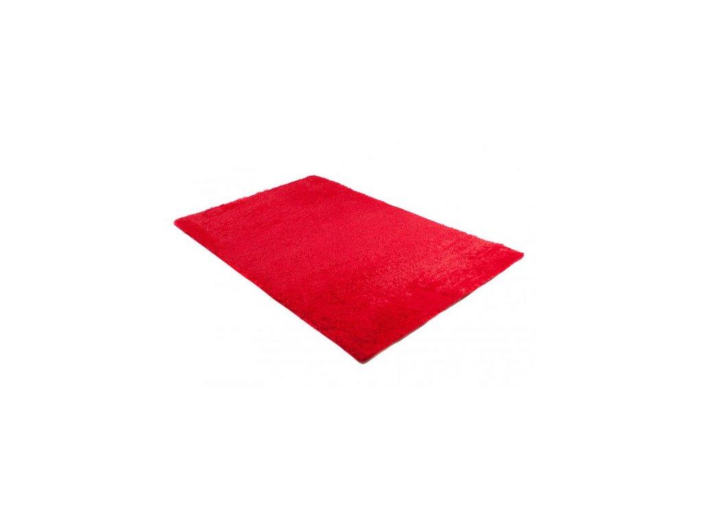 Koupelnová předložka SILK ARTS-61 Červená 60 x 100
