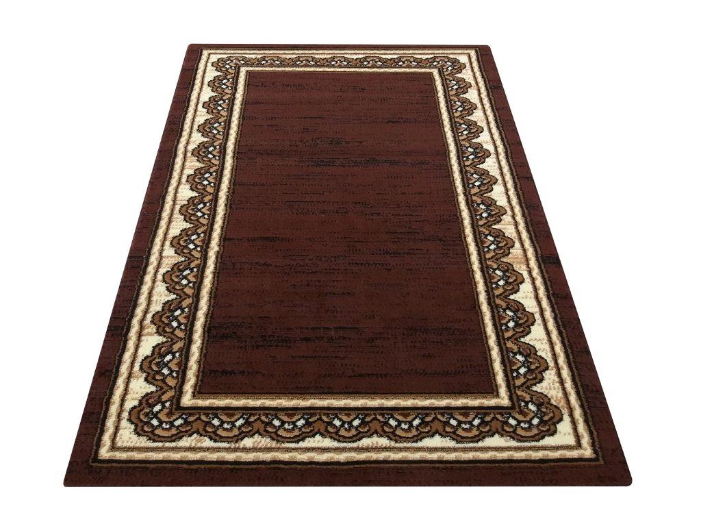 Kusový koberec BCF Alfa 05N hnědý