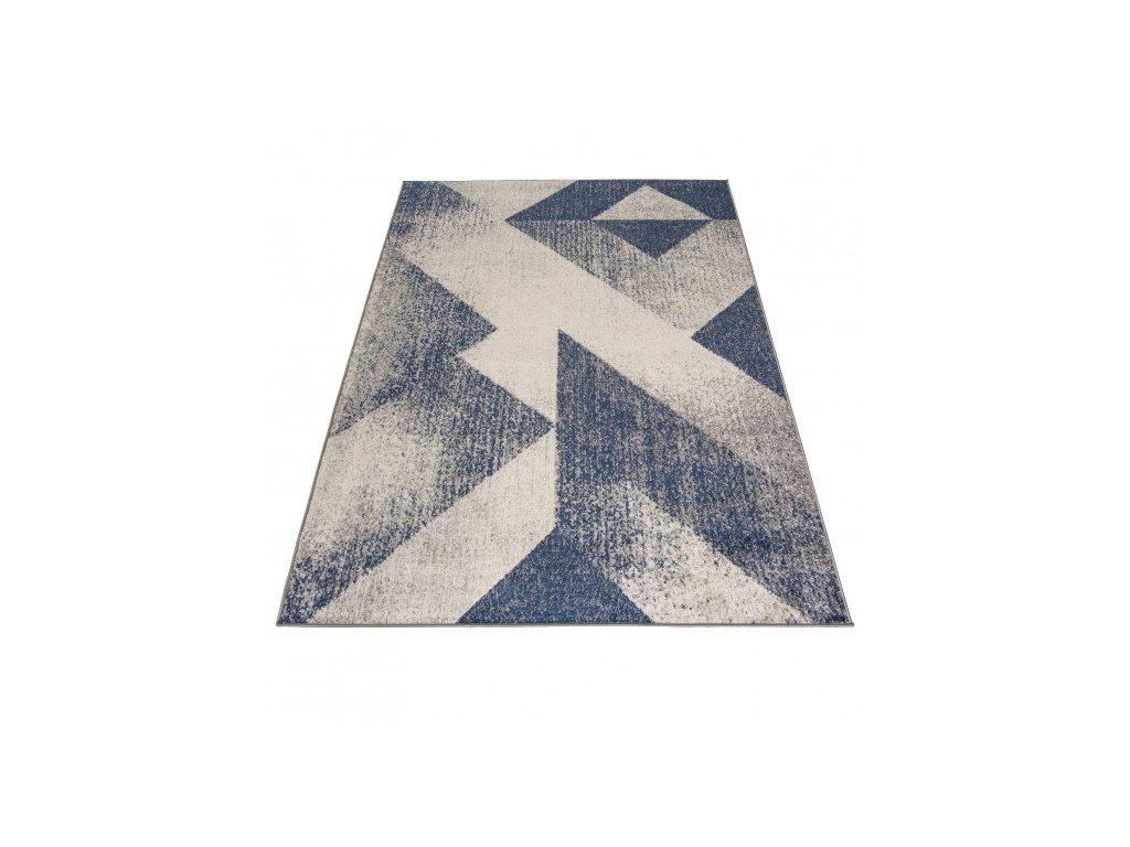 Moderní kusový koberec SPRING H173A Tmavě Modrý
