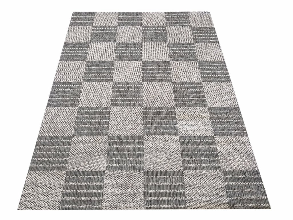 Kusový koberec sysalový oboustranný ZARA 01 šedý