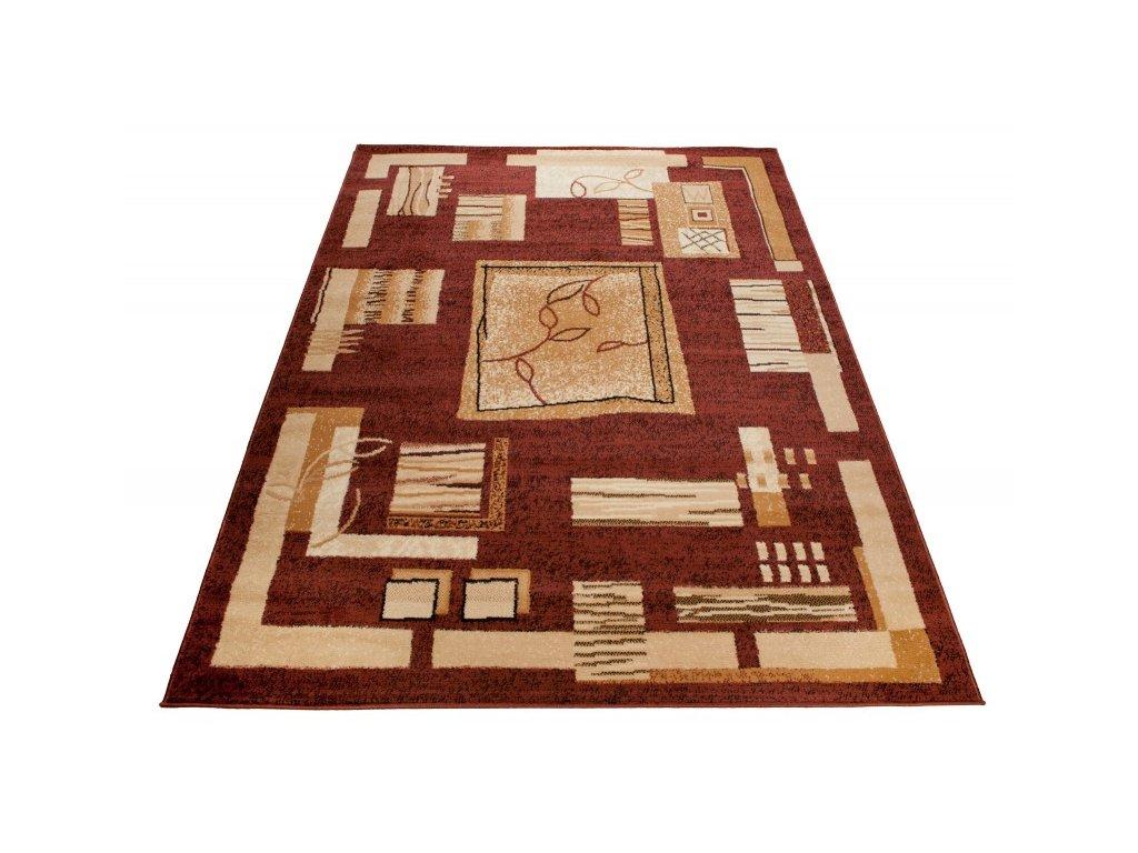 Kusový koberec  ATLAS 5067D Hnědý