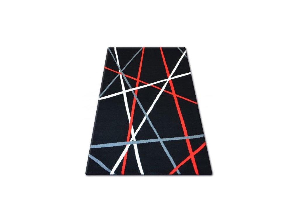 Kusový koberec BCF FLASH 33233/890 Černý