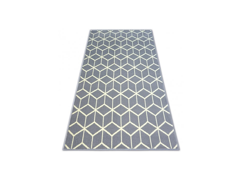 Koberec BASE CUBE 3956 šedý