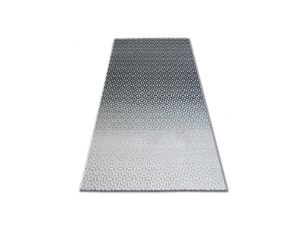 Kusový koberec LISBOA 27208/356 Černý šedý