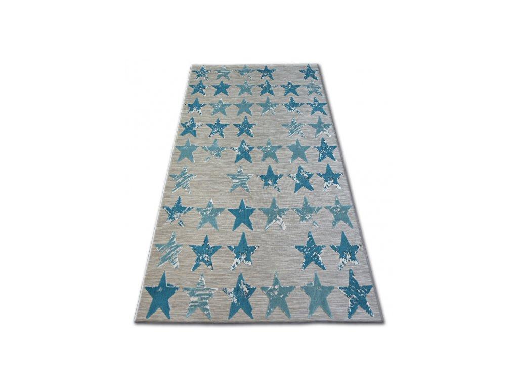 Kusový koberec LISBOA 27219/754 Hvězdy