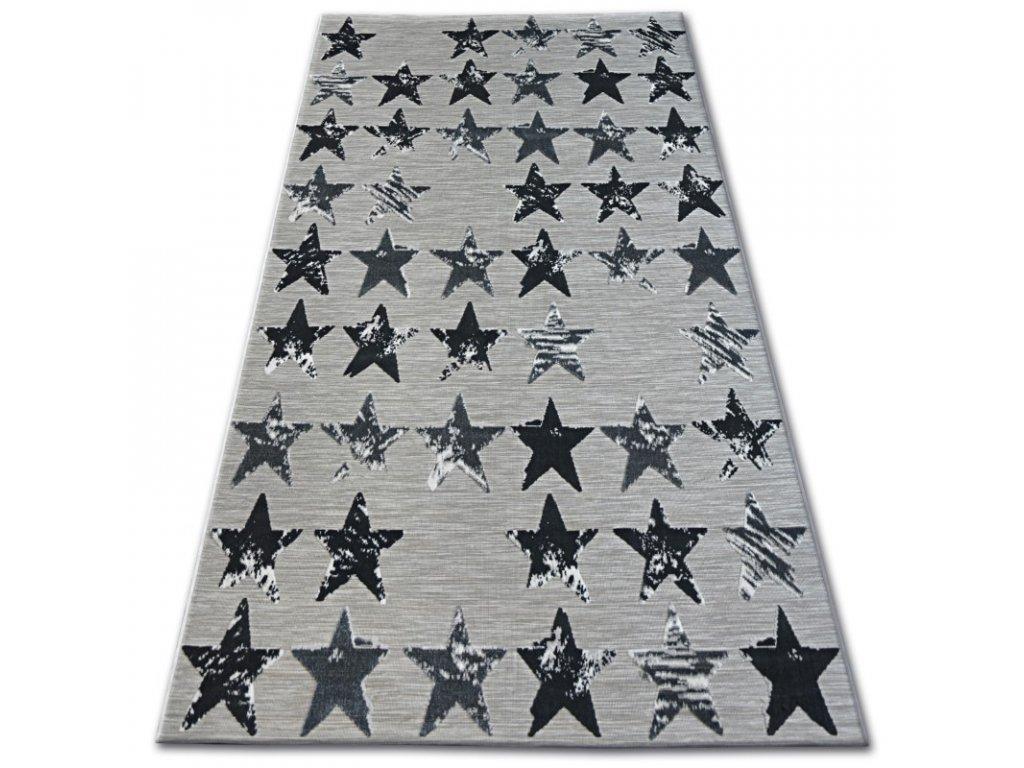 Kusový koberec LISBOA 27219/956 Hvězdičky