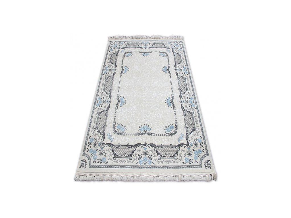 Kusový koberec akrylový MIRADA 0065 krémový modrý
