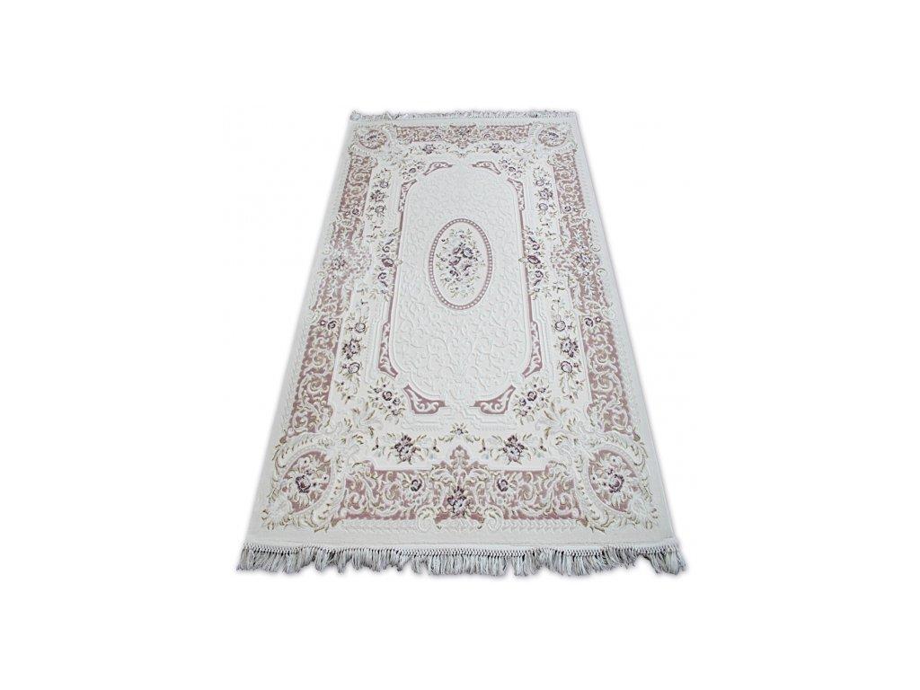 Kusový koberec akrylový MIRADA 5405 fialový / krémový
