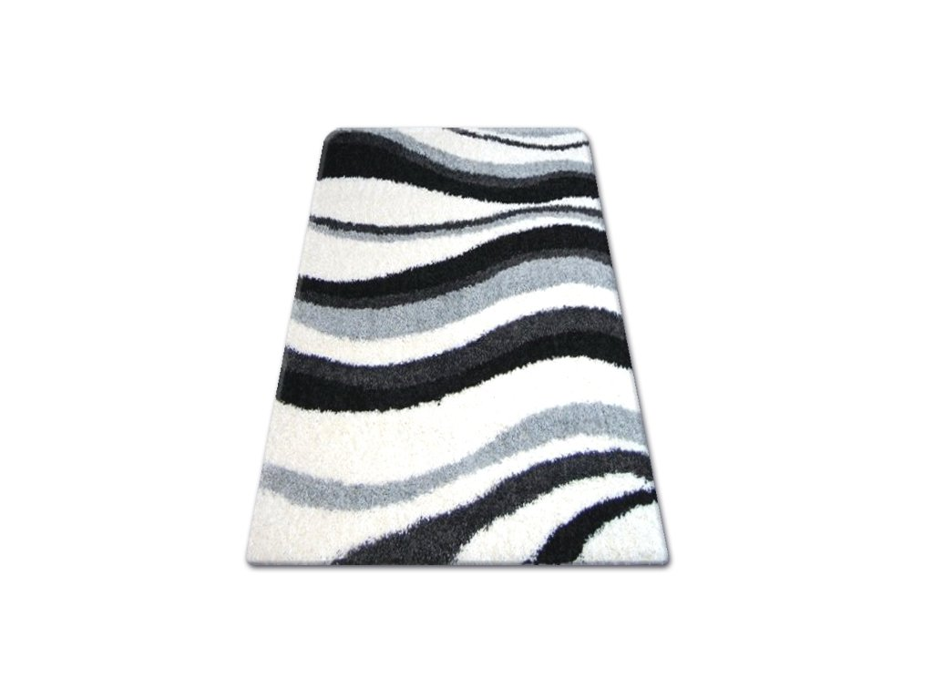 Koberec SHAGGY ZENA 2490 bílý šedý