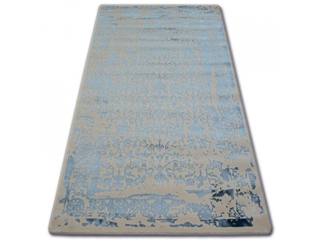 Luxusní kusový koberec MANYAS 0920 Ivory modrý