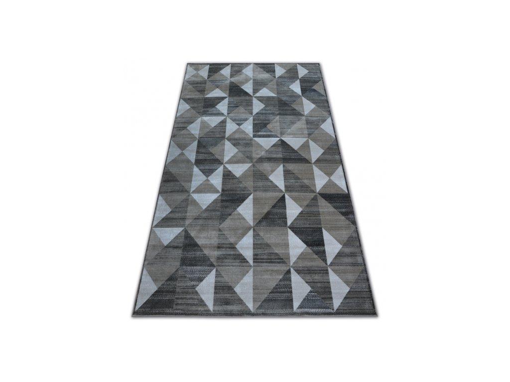 Kusový koberec NOBIS 84196 šedý