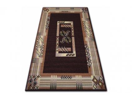 Kusový koberec PRIMO 5123 hnědý