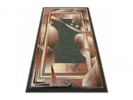 Kusový koberec PRIMO 5741 zelený