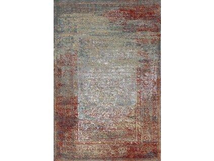 Kusový koberec vlněný Agnella Basic Ariena Autumn Red